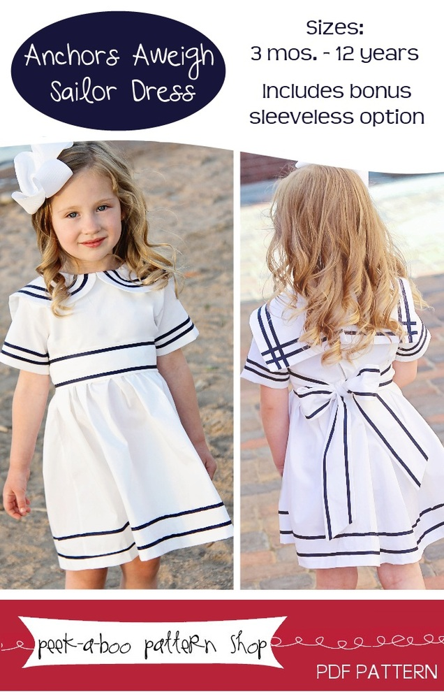 Anchors Aweigh Sailor Dress