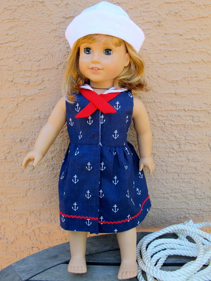Seaside Sailor Doll Oufit