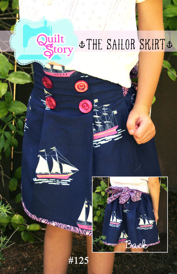 Sailor Skirt by Quilt Story