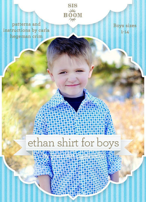 Click photo to purchase the Ethan pattern from Scientific Seamstress Etsy Shop