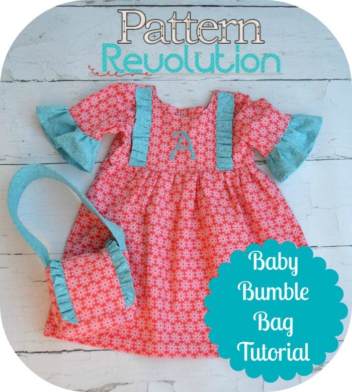 Free Baby Bumble Bag Tutorial from patternrevolution.com