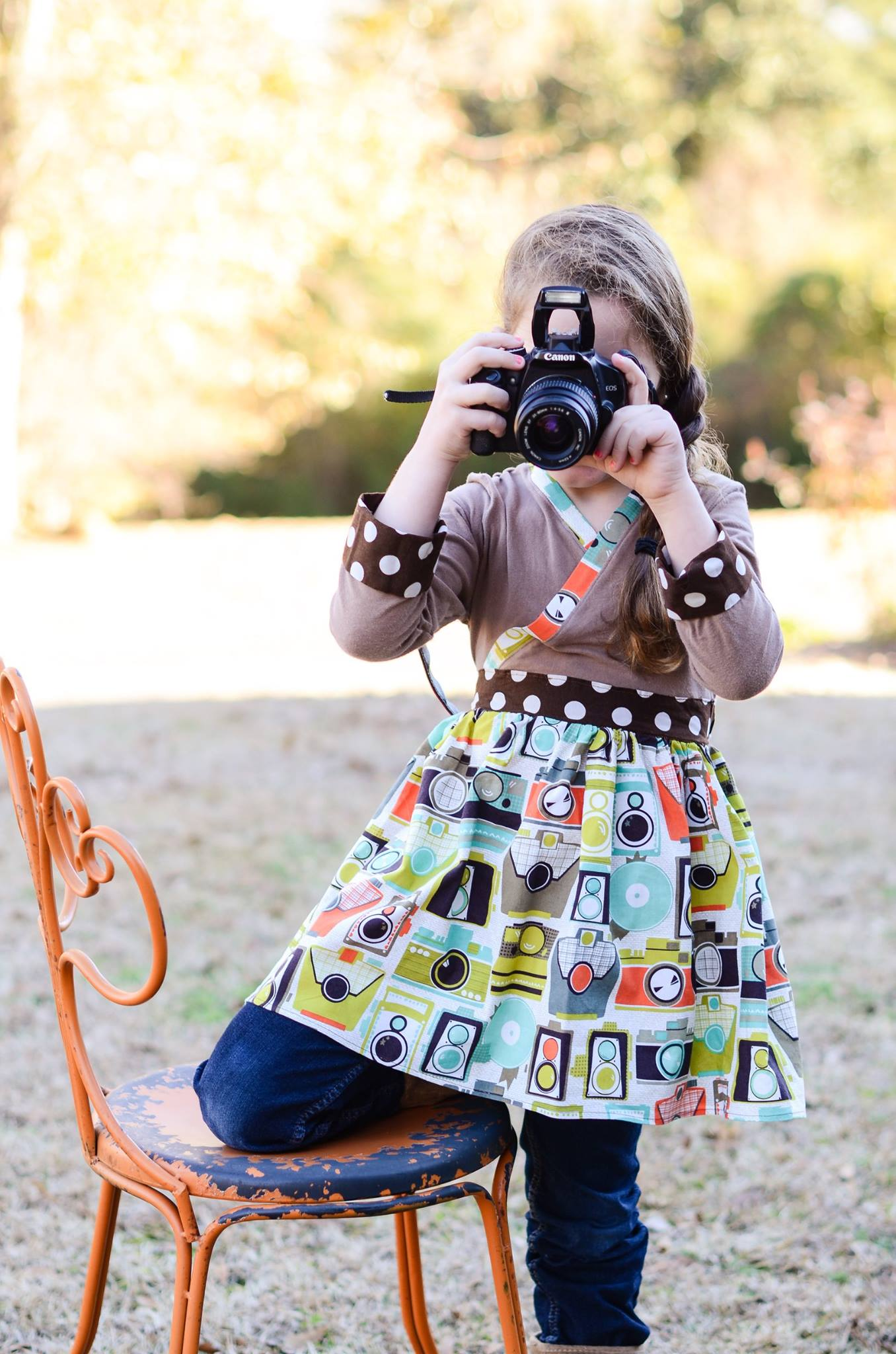 Bethany's Camera-theme Tallulah is so much fun!