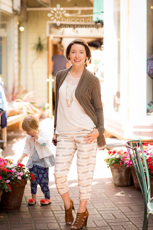 Fall 2014 Women's Fashion Trend: Relax Fit Pants | DIY pants by @teachmefashionn in @dearstella Ikat Stripes