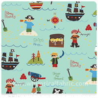 Treasure Map By Riley Blake (I love this whole line!