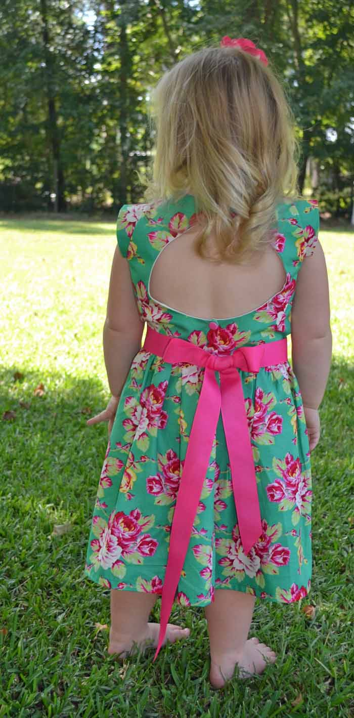 Open back, perfect for hot summer days
