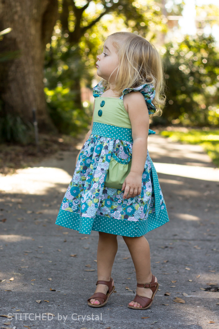 Huckleberry bodice + Tallulah skirt