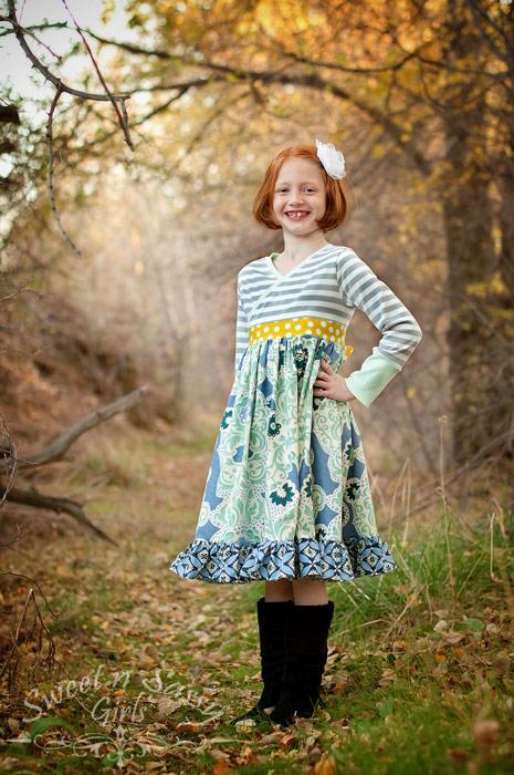 Tallulah Bodice and Huckleberry Skirt