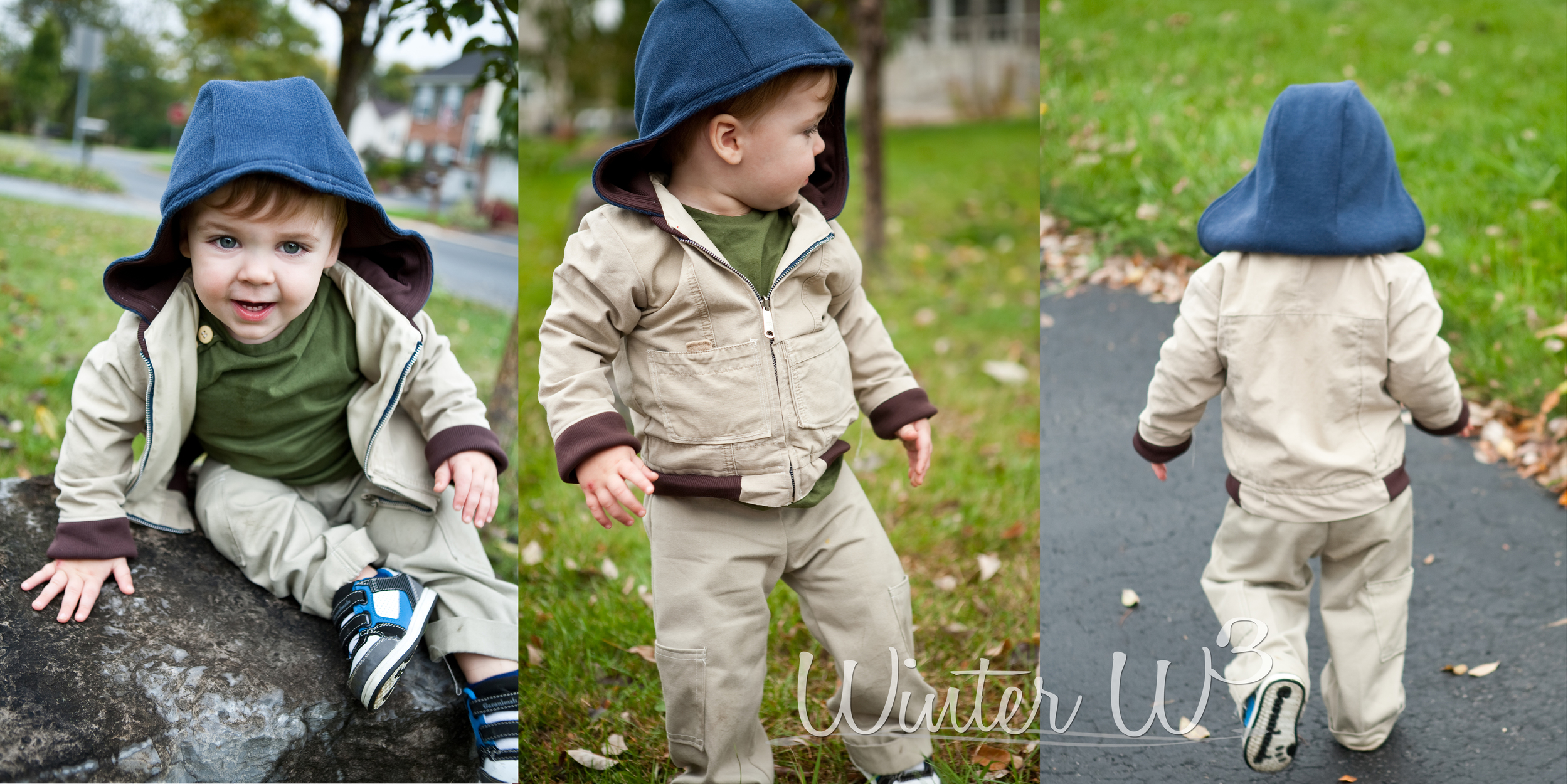 Self Drafted coat Becket 20 months