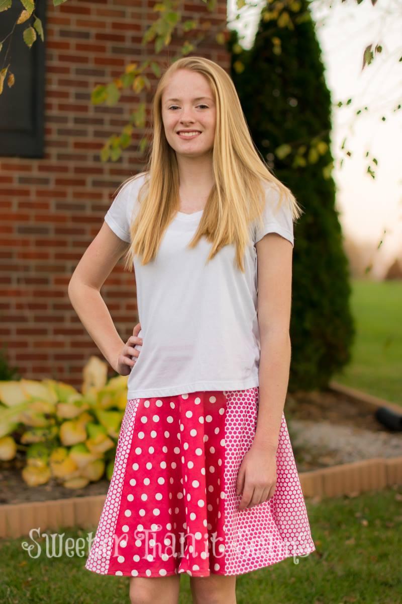 Ladies Skater Skirt by Pattern Emporium