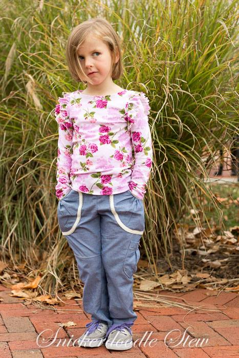 Sweetheart Cargo Pants by Pattern Emporium