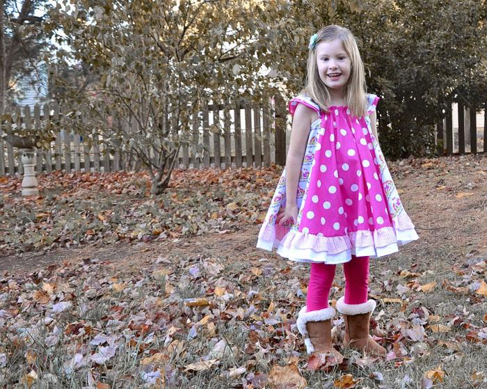 Swing Dress by The Handmaiden's Cottage- Pattern Revolution