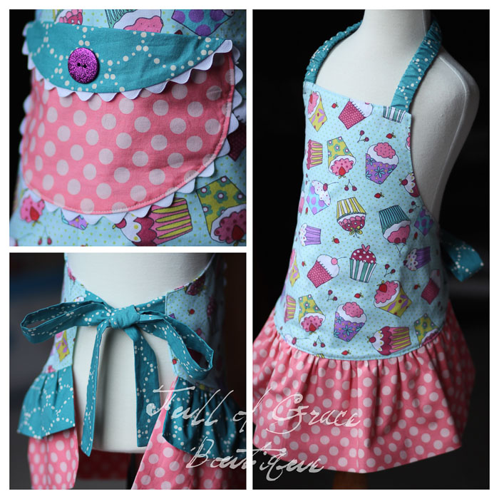 Apron for Girls by My Childhood Treasures- Pattern Revolution