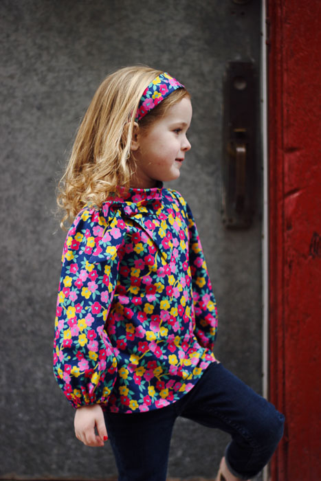 Lennon Blouse and Dress by Brownie-Goose- Pattern Revolution