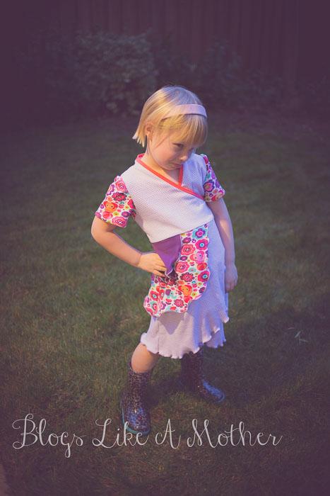 Iridis Wrap Dress by Sofilantjes- Pattern Revolution