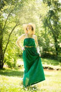 Seamingly Smitten Maxi Dress