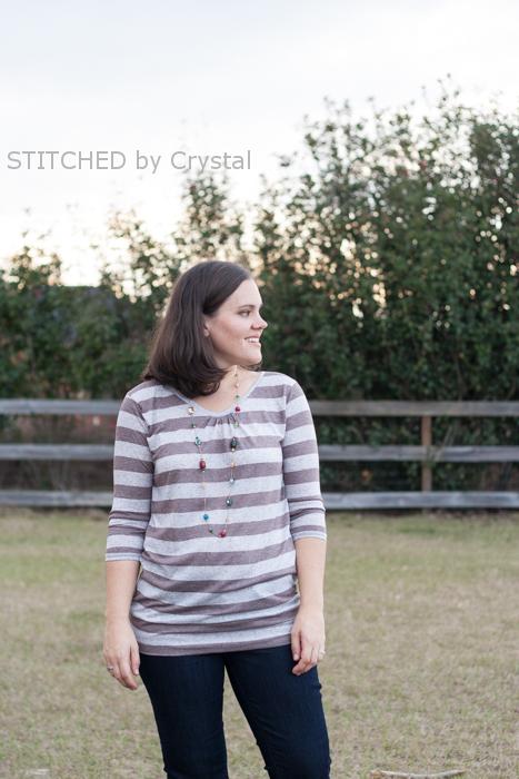 The Ballard Top by Straight Stitch Designs- Pattern Revolution