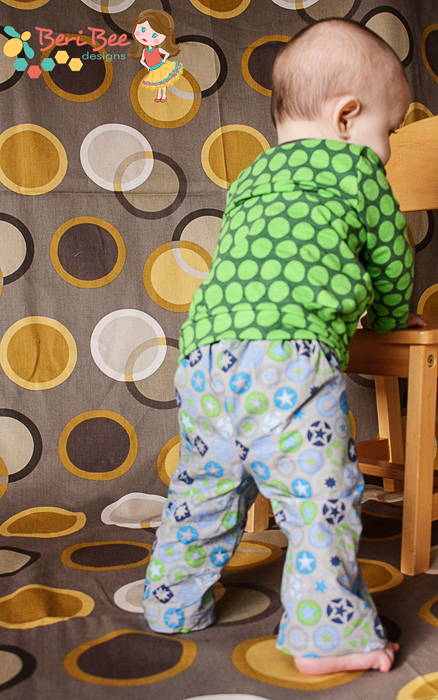 Bottoms Up Pants by If Only They Would Nap- Pattern Revolution