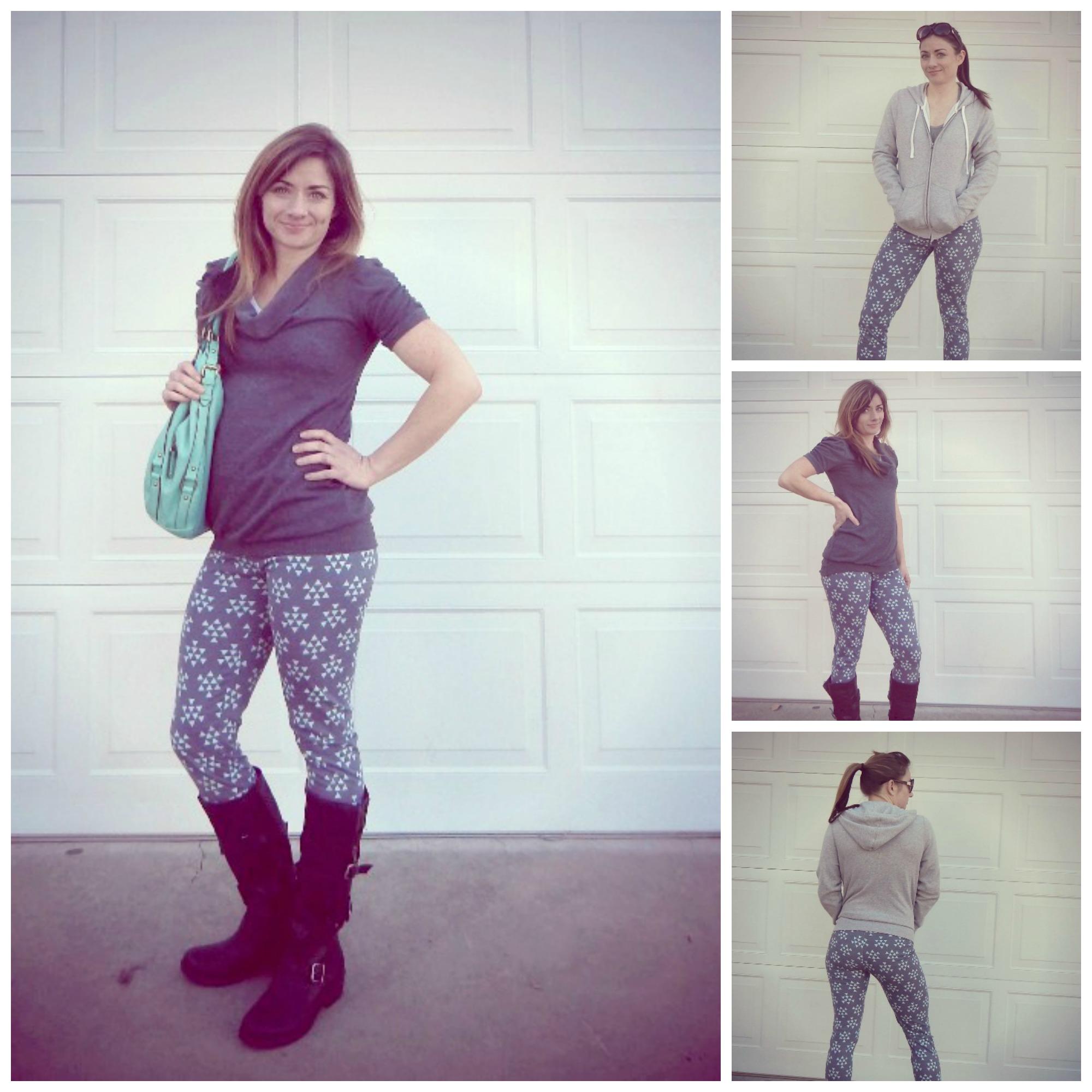 Women's Leggings by Seamingly Smitten- Pattern Revolution