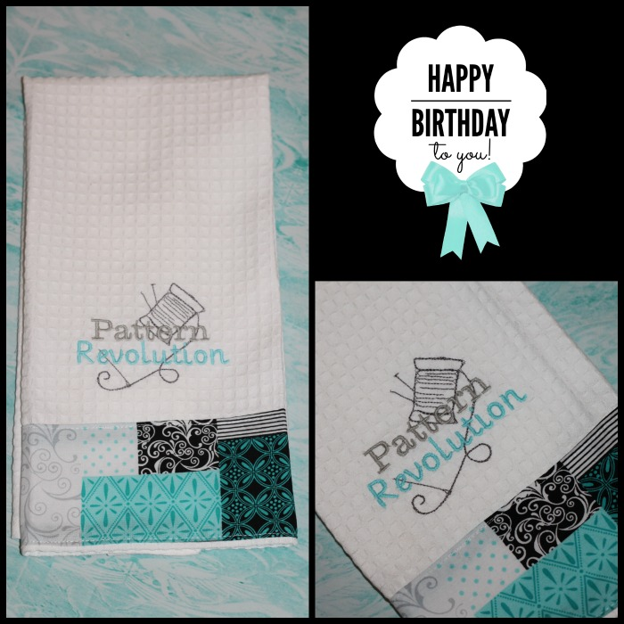 Embroidered Towels from Melissa