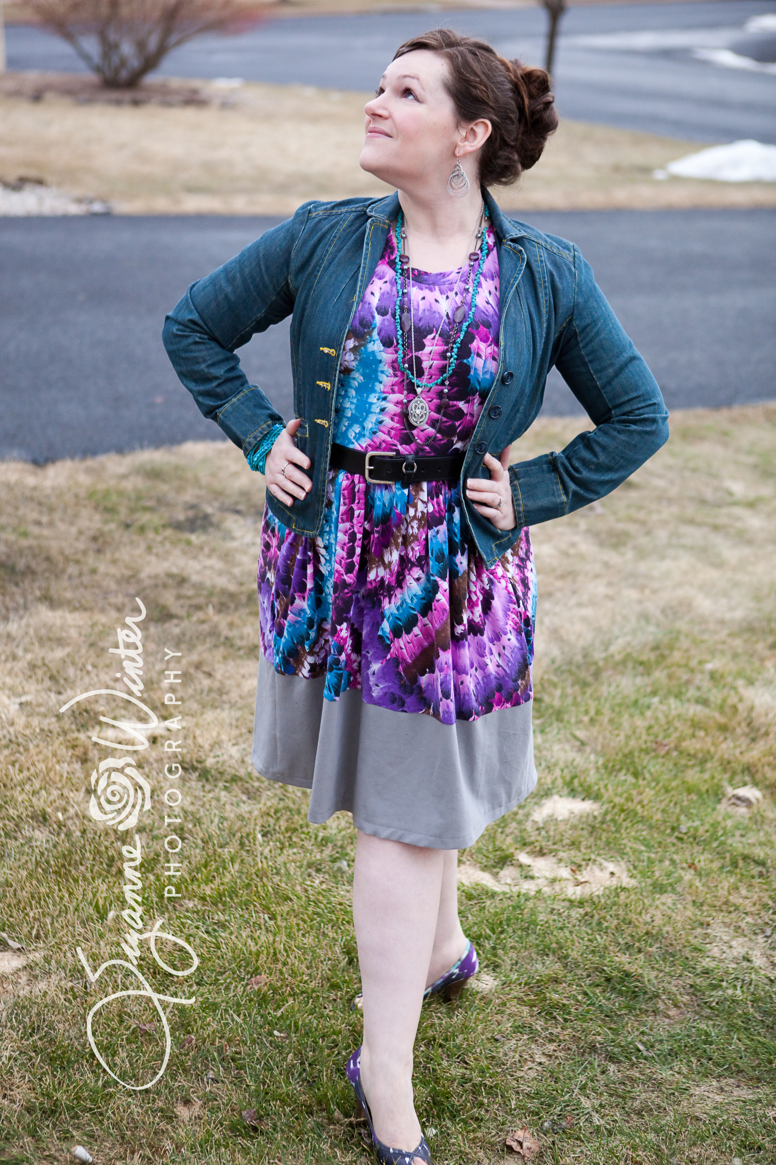 Out and About Dress - Sew Caroline
