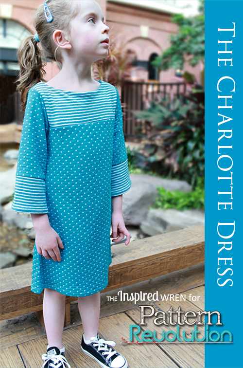 The Charlotte Dress by My Childhood Treasures- Pattern Revolution