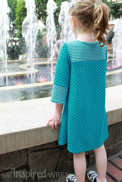 The Charlotte Dress by My Childhood Treasures-Pattern Revolution
