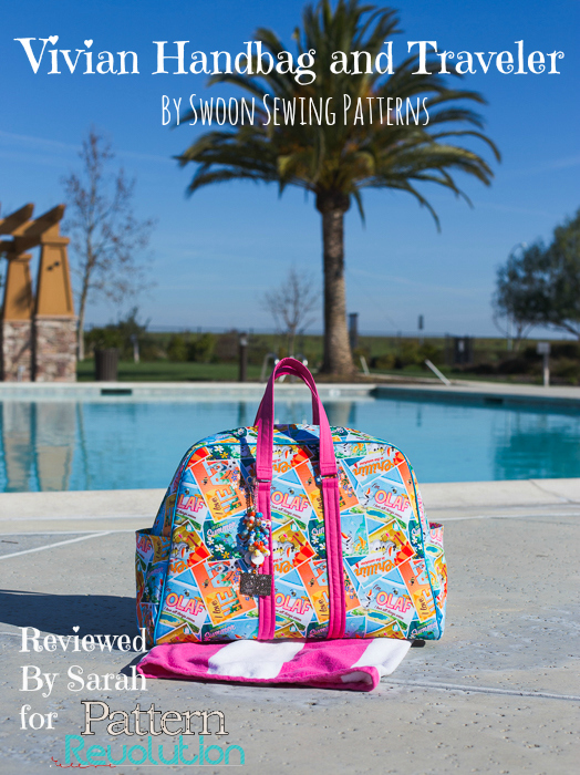 The Vivian Handbag and Traveler by Swoon Sewing Patterns-Pattern Revolution