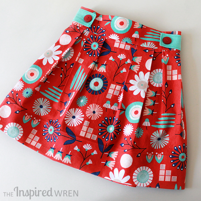 The Lottie Skirt from Brownie-Goose Patterns- Pattern Revolution
