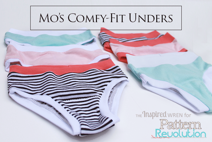 Mo's Comfy Fit Unders and Trainers by Mo's Pattern Shop- Pattern Revolution
