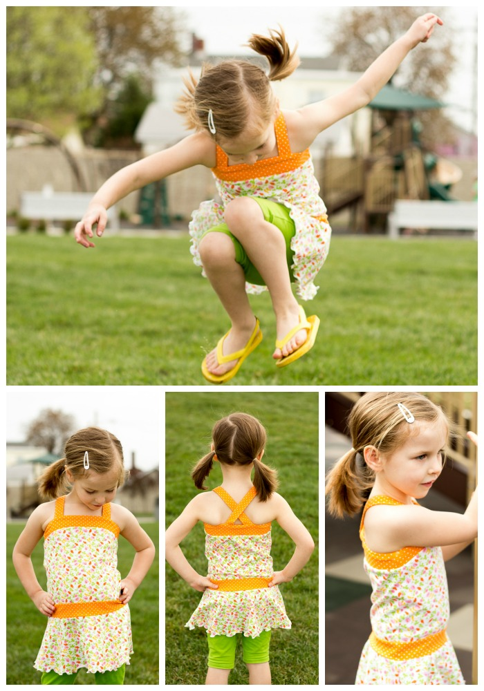 Tybee Tank Top and Dress by LilyGiggle- Pattern Revoution