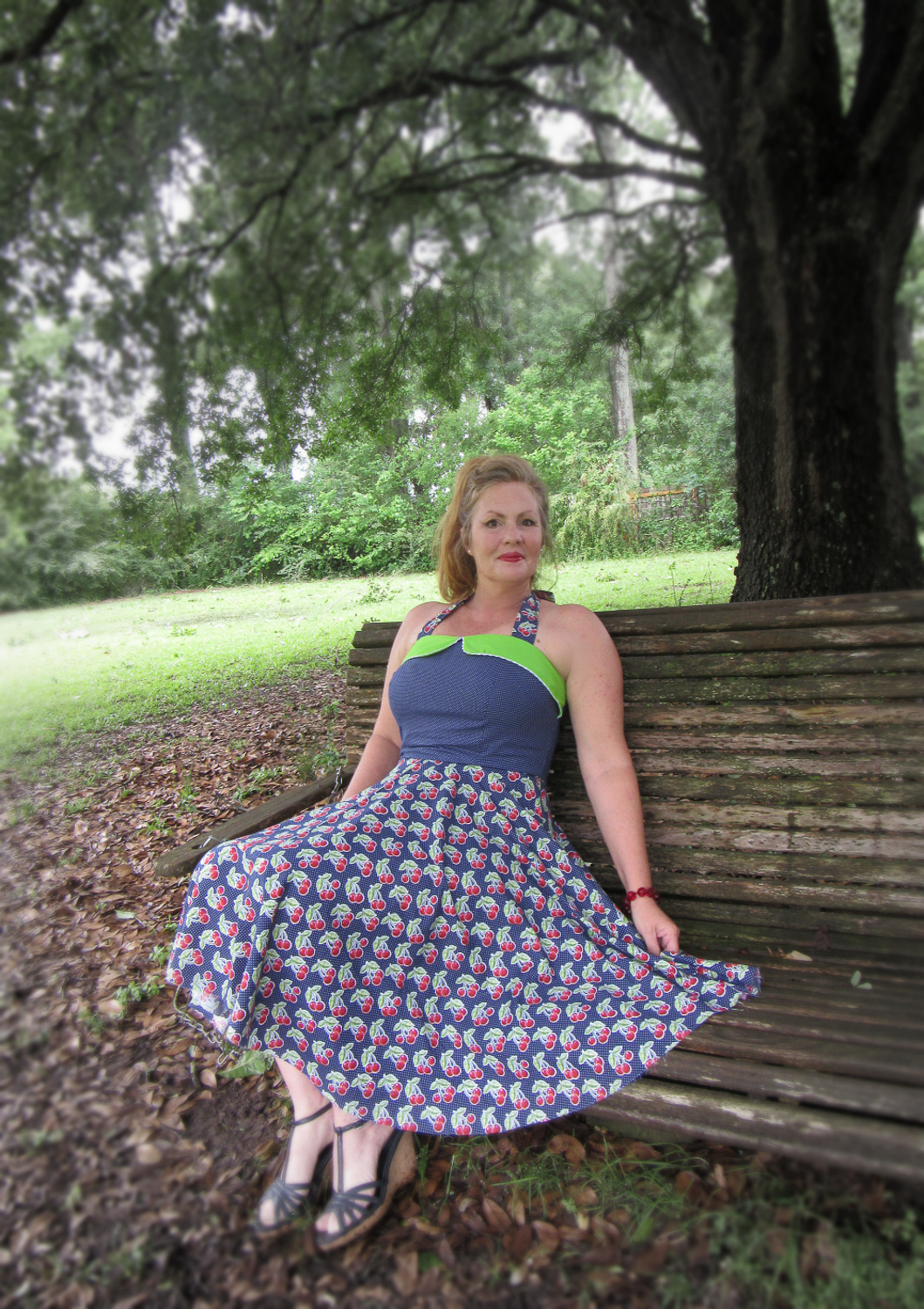 The Misses Ginger Dress by VIolette FIeld Threads- Pattern Revolution