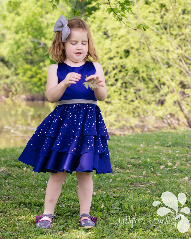 Maddie's Dress by Lily Bird Studio- Pattern Revolution