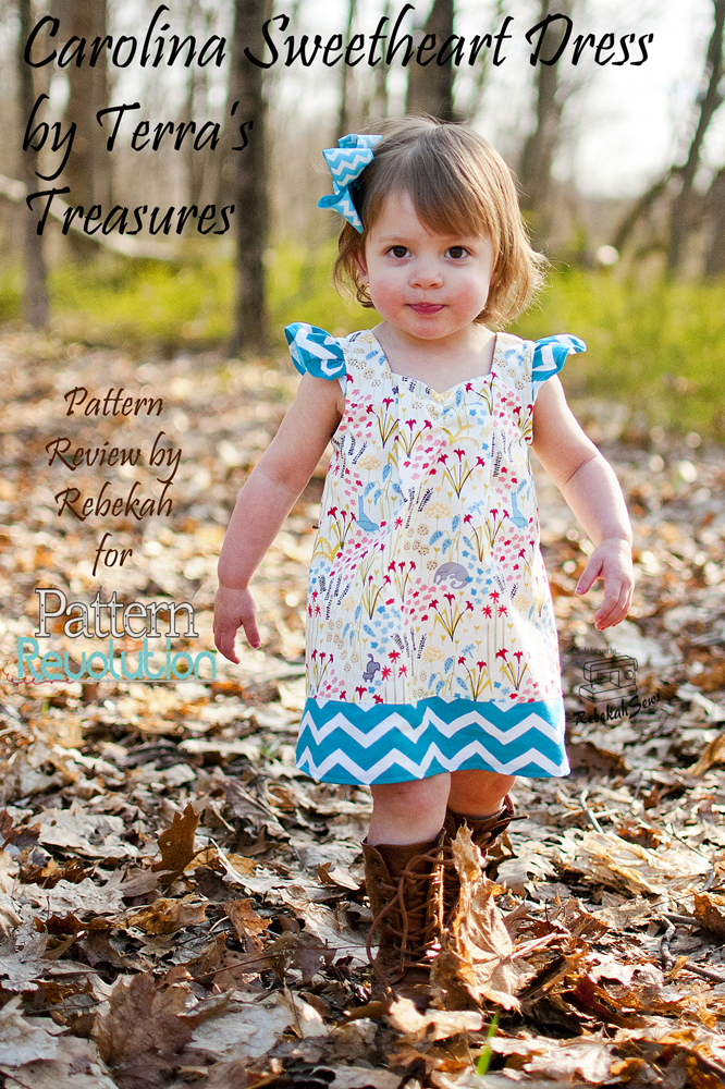 The Carolina Sweetheart Dress by Terra's Treasures- Pattern Revolution