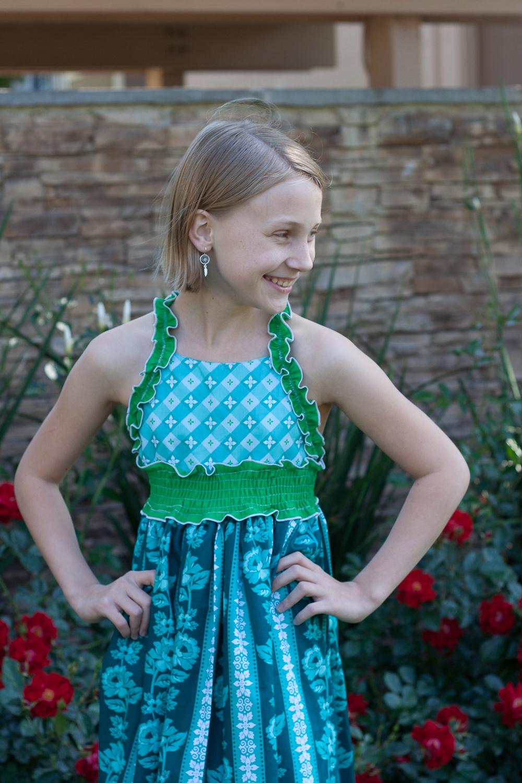 Rosette's Dress by Lily Bird Studio- Pattern Revolution
