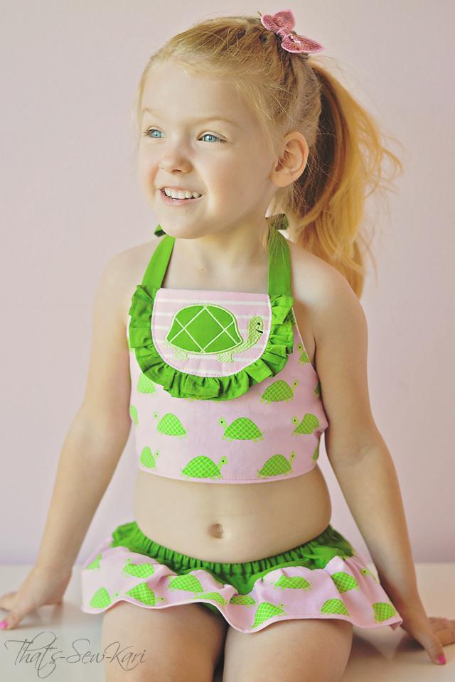 Birdie Bikini by My Childhood Treasures- Pattern Revolution