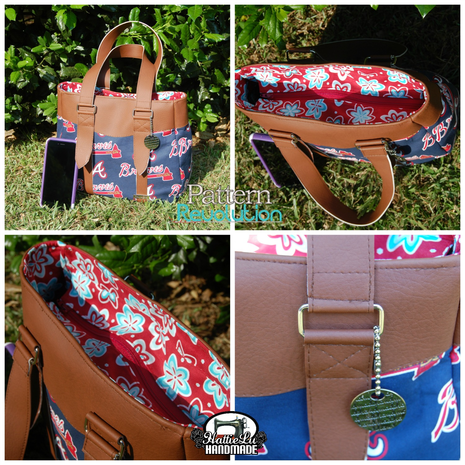 Evelyn Market Tote and Handbag by Swoon Sewing Patterns- Pattern Revolution