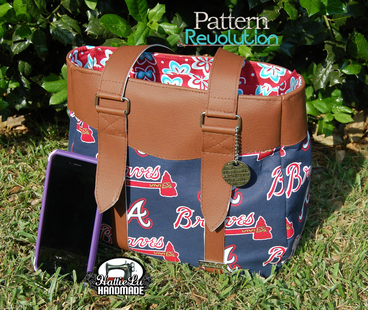 Evelyn Market Tote and Handbag by Swoon Sewing Patterns