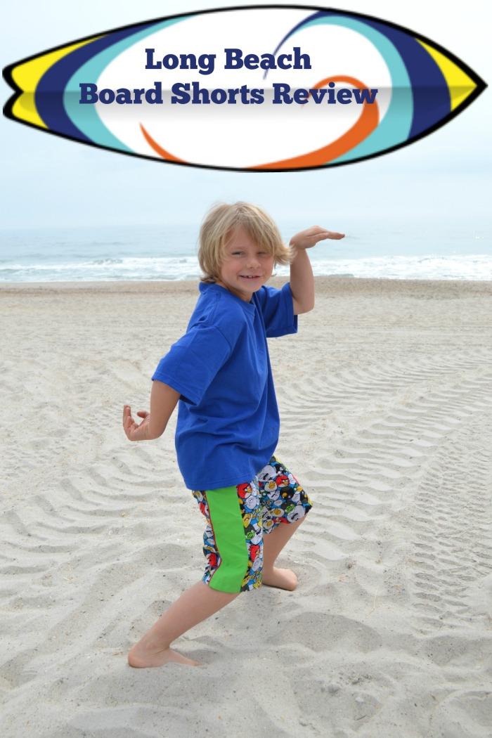 Long Beach Board Shorts by Terra's Treasures