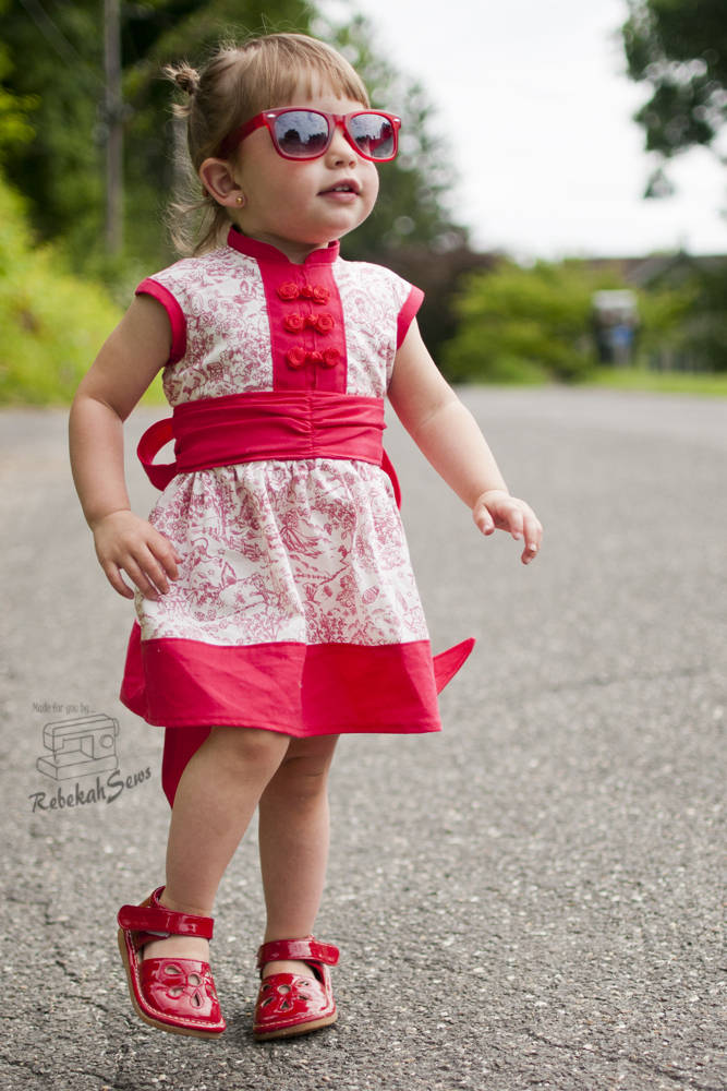 Cherry Blossom Dress by Mandy K Designs- Pattern Revolution