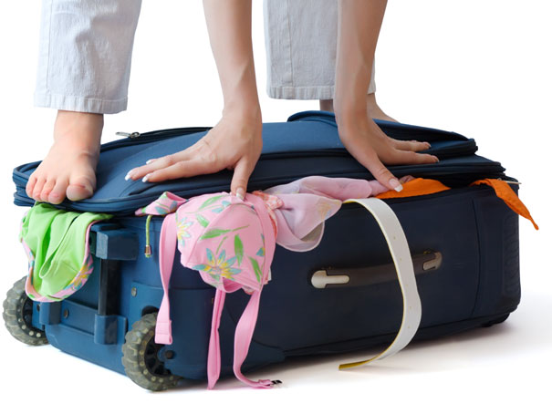 By packing in pile, you can neatly fit everything in without the cram of a bulging bag!