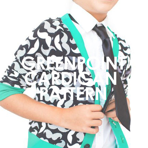 The Greenpoint Cardigan is great for girls and boys and is the perfect layering piece to transition into fall.