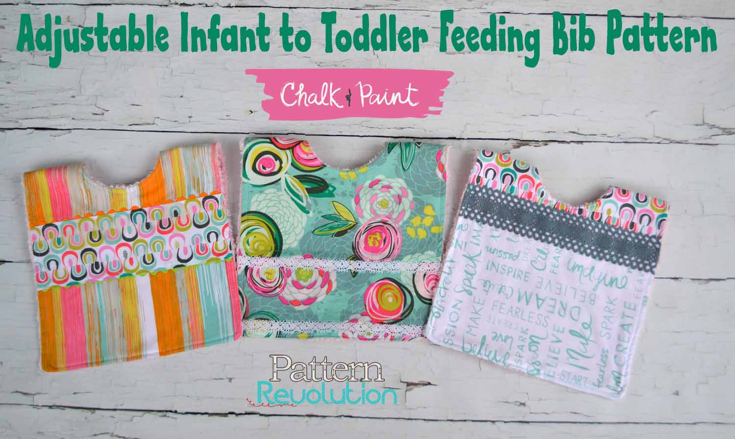 Free Adjustable Infant to Toddler Feeding Bib Pattern — Pattern