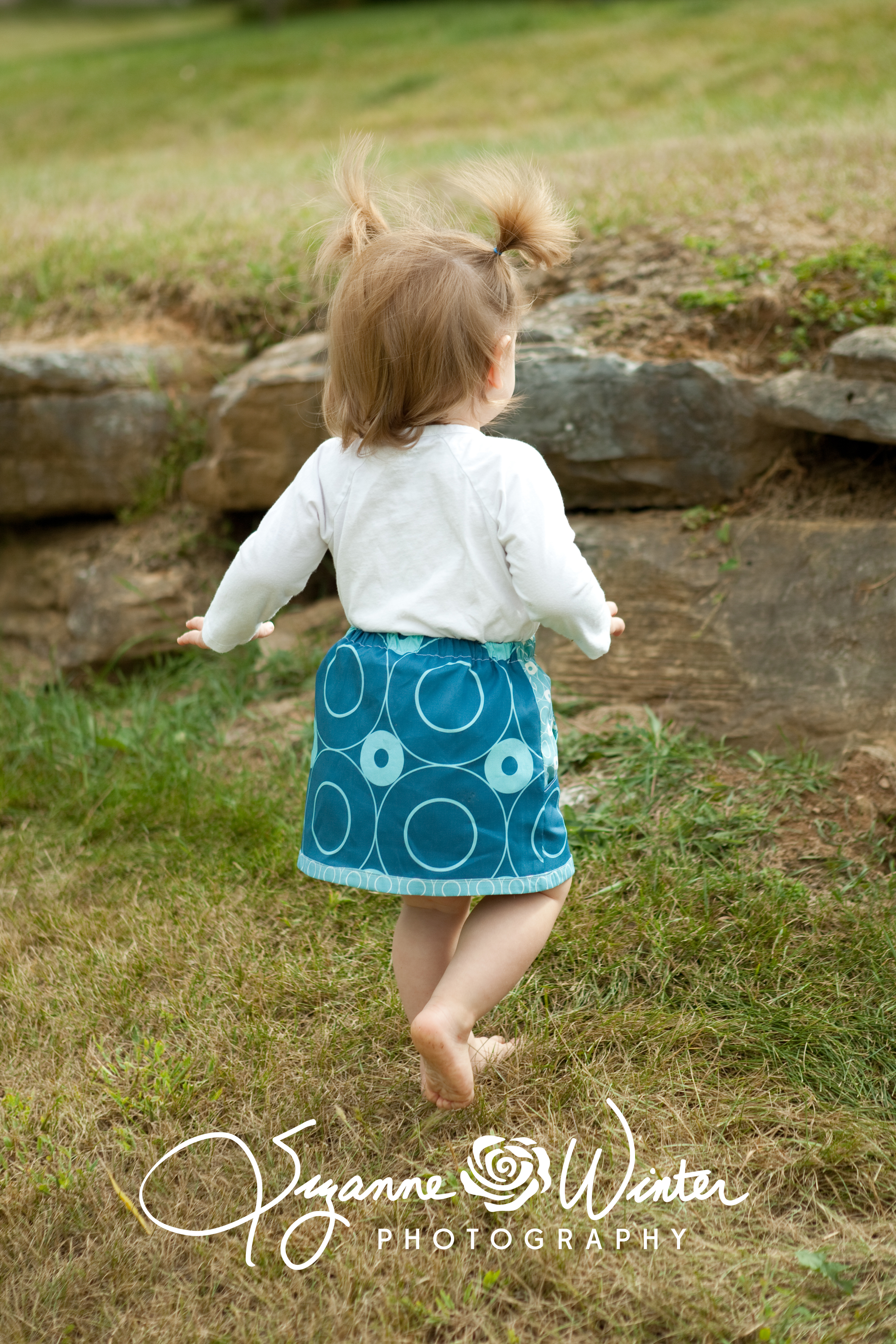 oh, a nice knee length skirt.
