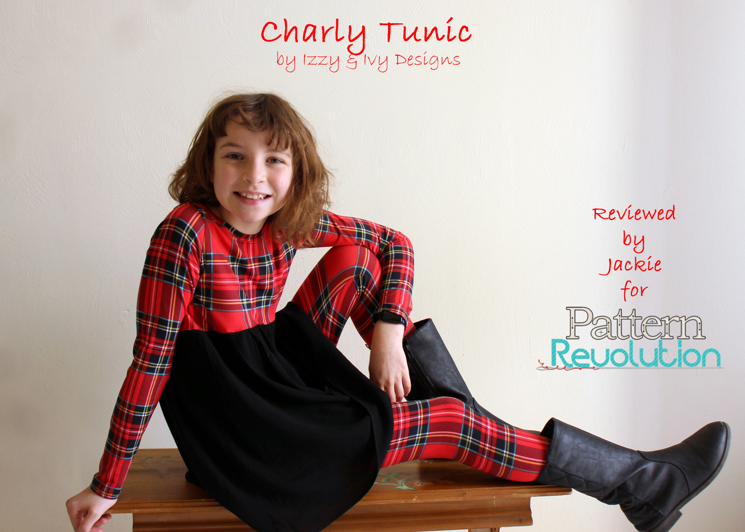 Jackie's Charly Tunic from Izzy&Ivy Designs