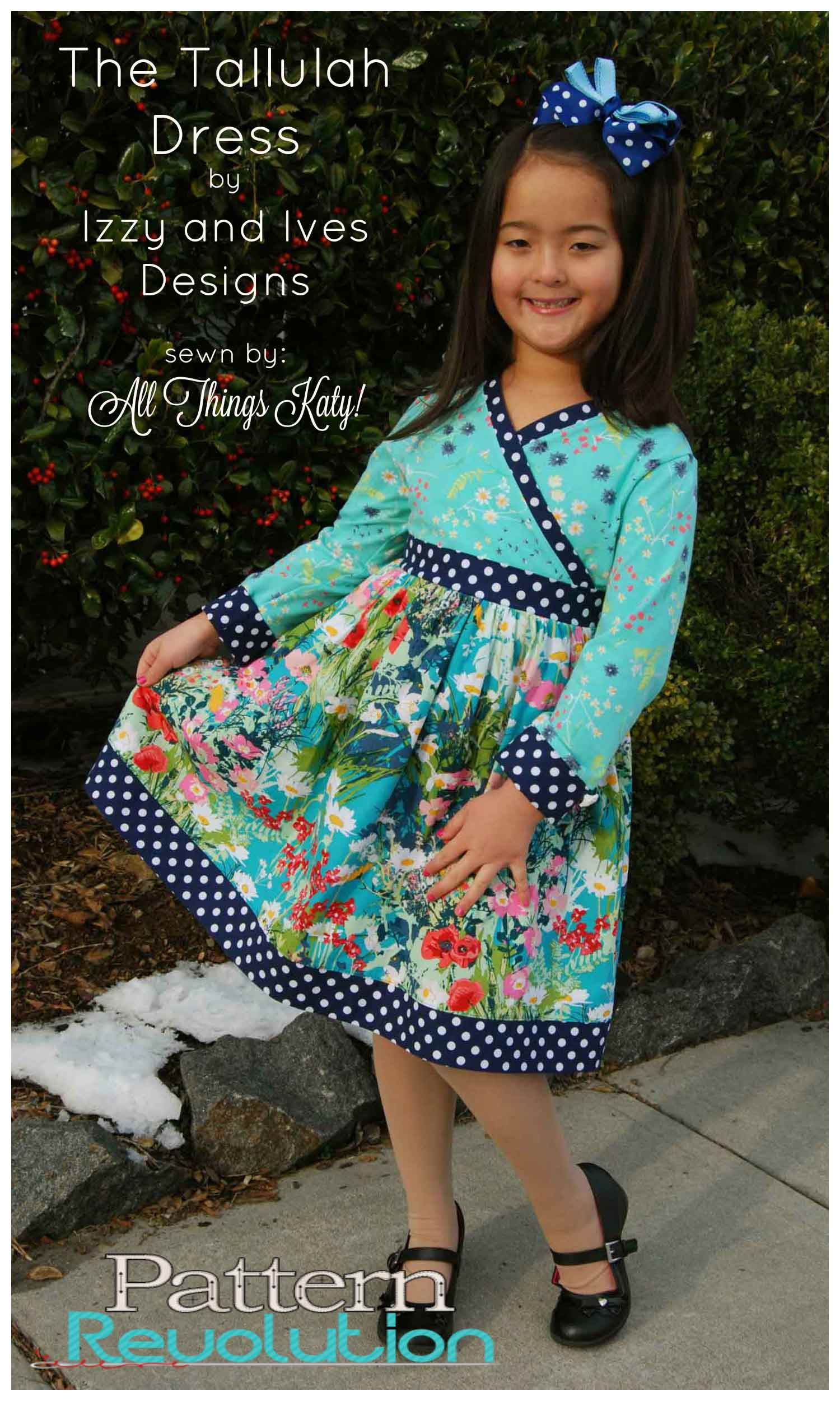 Heather's Talulah Dress from Izzy&Ivy Designs