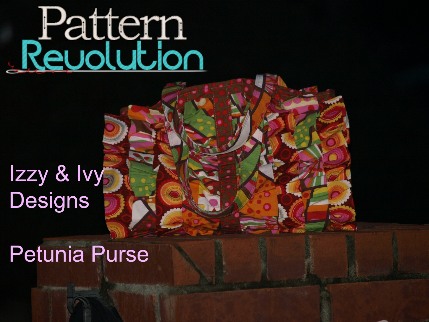 Laura's Petunia Purse from Izzy&Ivy Designs
