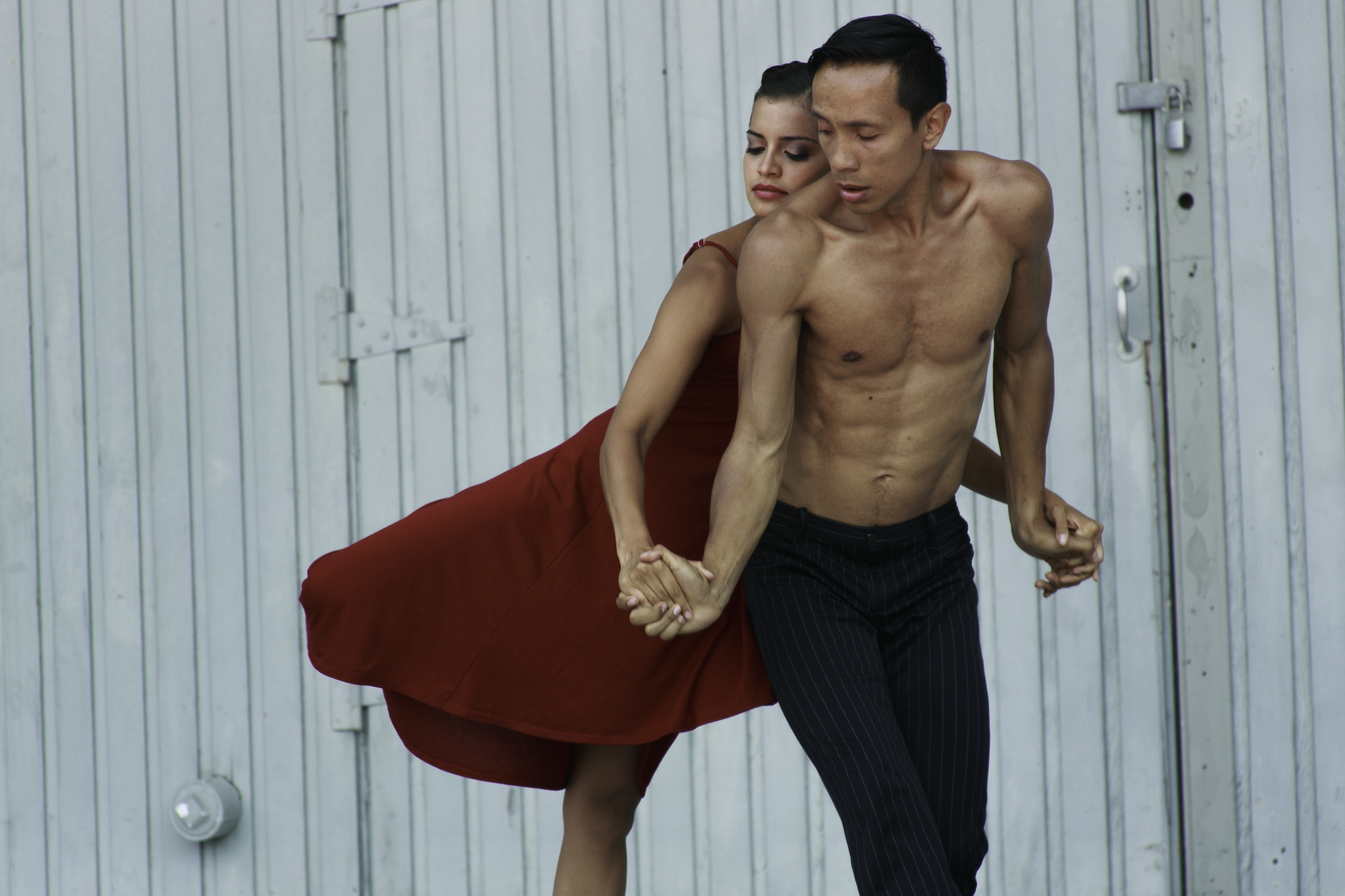 Kassandra Cruz and Yesid Lopez • photo by Francisco Graciano