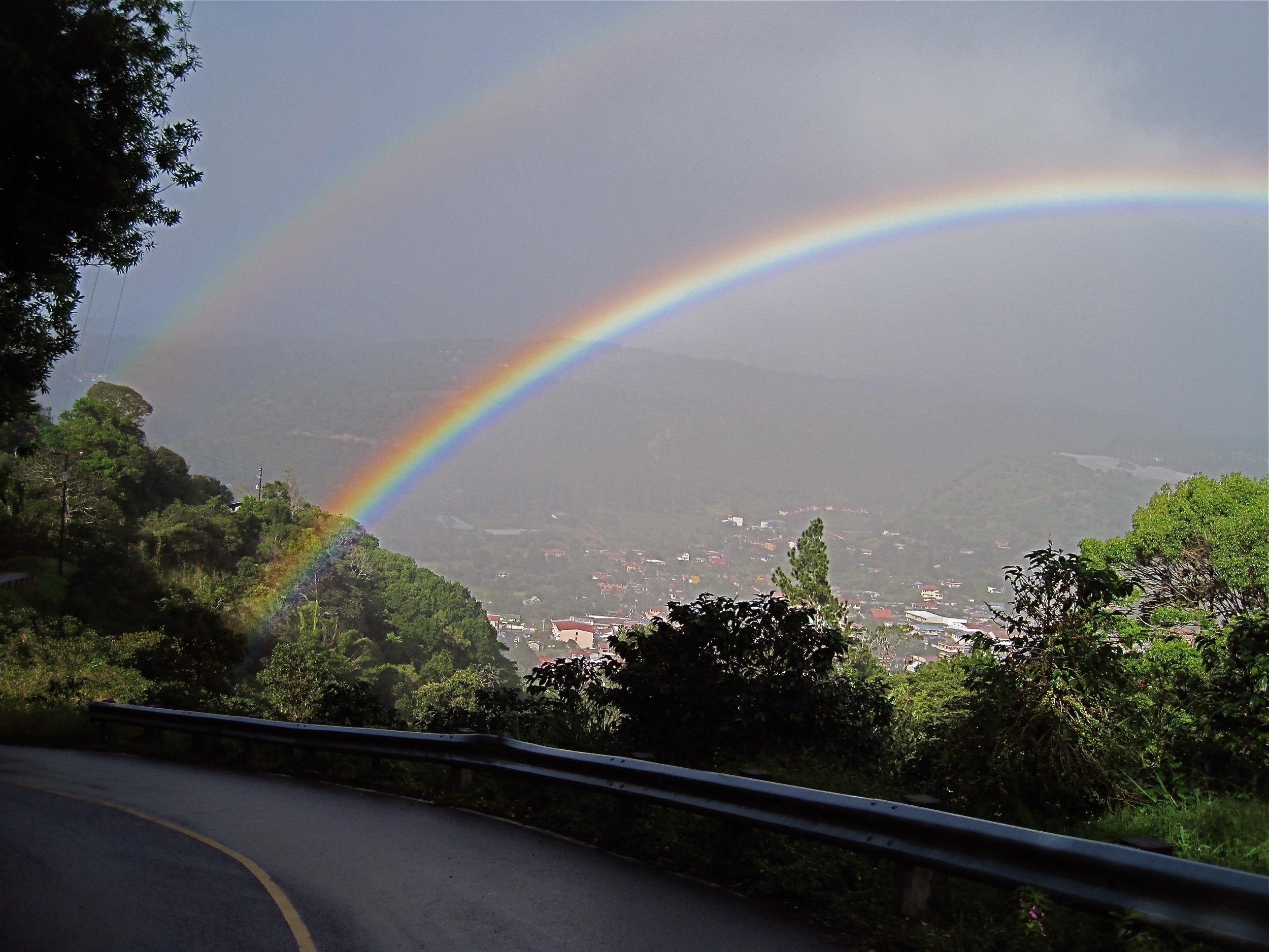 Christmas Eve Double Rainbow Over Boquete