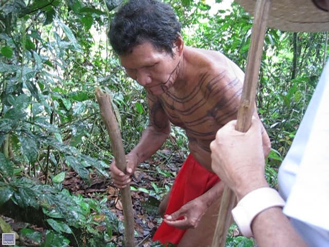 Embera medicine shaman -- Panama