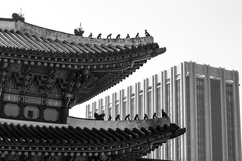 Gyeongbokgung front gate.